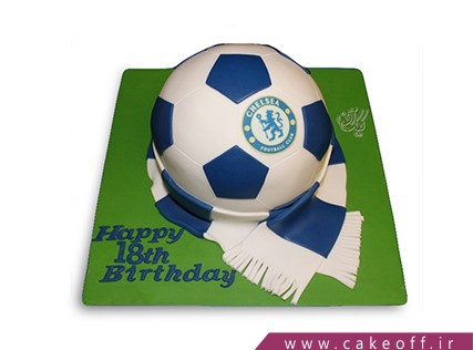 کیک فوتبالی چلسی 3 | کیک آف