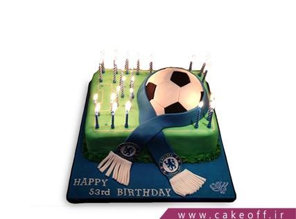 کیک فوتبالی چلسی 4 | کیک آف