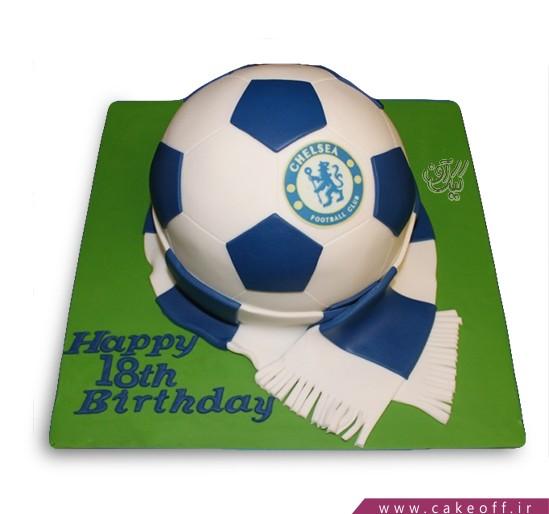 کیک فوتبالی چلسی 3