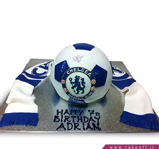 کیک فوتبالی چلسی 2 | کیک آف