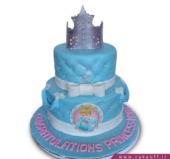 کیک تولد سیندرلای ملکه