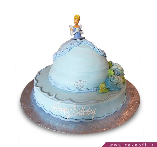 سفارش کیک تولد باربی - کیک آتریسا | کیک آف