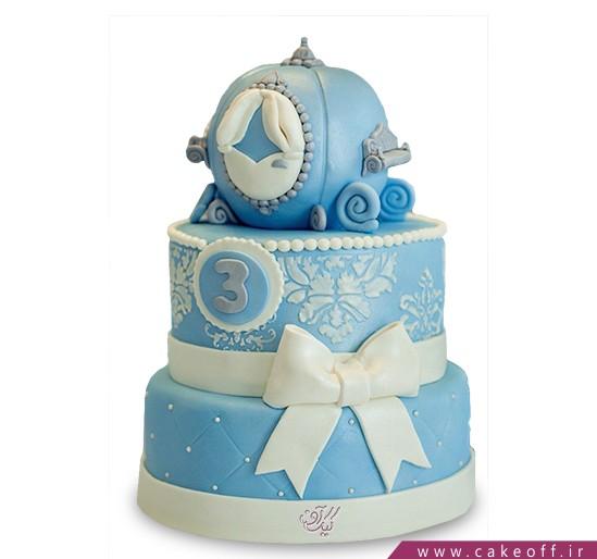 کیک کالسکه سیندرلا