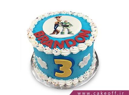 کیک کودک - کیک داستان اسباب بازی ها 10 | کیک آف