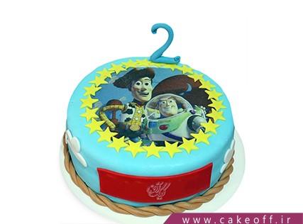 کیک تولد بچگانه - کیک داستان اسباب بازی ها 9 | کیک آف