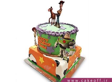 کیک تولد بچگانه - کیک داستان اسباب بازی ها 6 | کیک آف