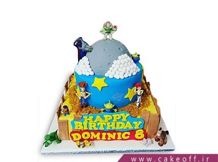 کیک تولد بچگانه - کیک داستان اسباب بازی ها 4   کیک آف