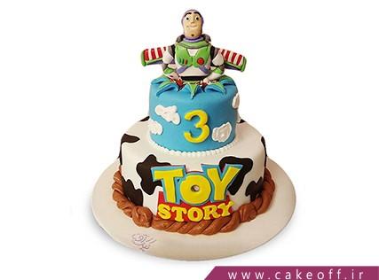 کیک تولد بچگانه - کیک داستان اسباب بازی ها 3 | کیک آف