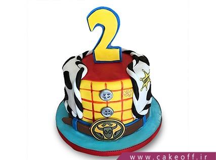 کیک تولد بچگانه - کیک داستان اسباب بازی ها 2   کیک آف