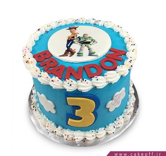 کیک کودک - کیک داستان اسباب بازی ها ۱۰   کیک آف