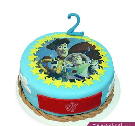 کیک تولد بچگانه - کیک داستان اسباب بازی ها ۹ | کیک آف