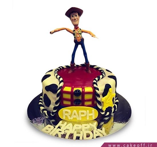 کیک تولد بچگانه - کیک داستان اسباب بازی ها ۵   کیک آف