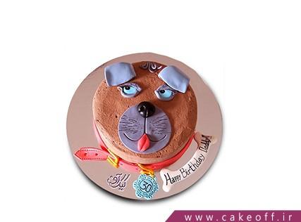 کیک تولد حیوانات - کیک تولد سگ بد جنس | کیک آف