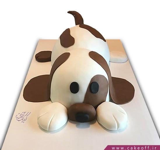 کیک سگ خال قهوه ای