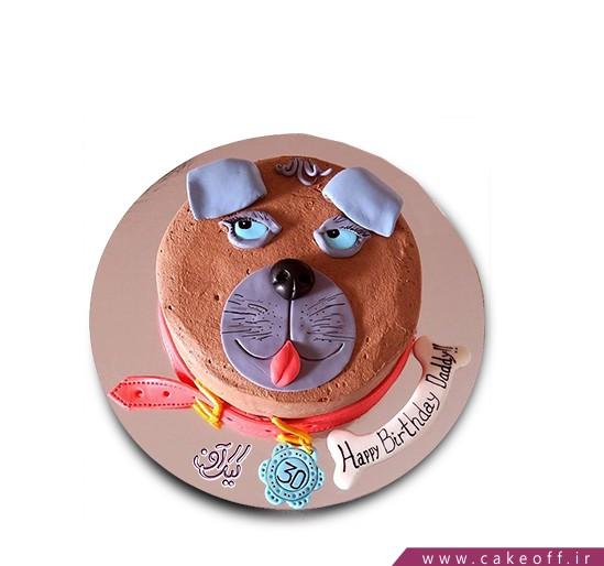کیک تولد سگ بد جنس