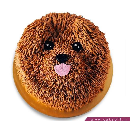 کیک سگ پشمالو