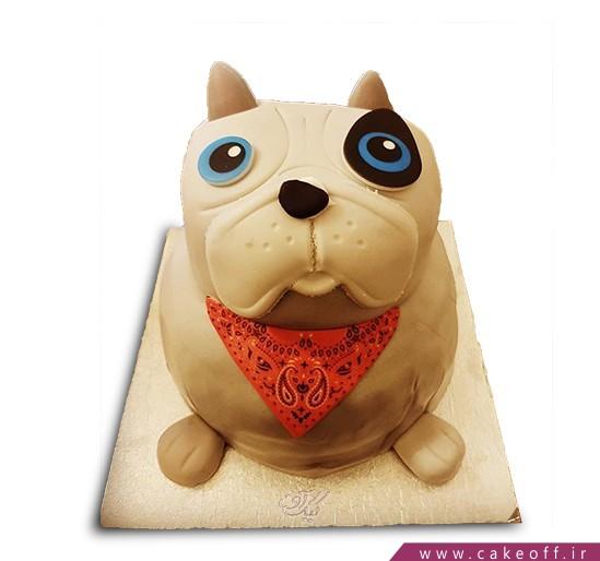 کیک سگ چشم آبی
