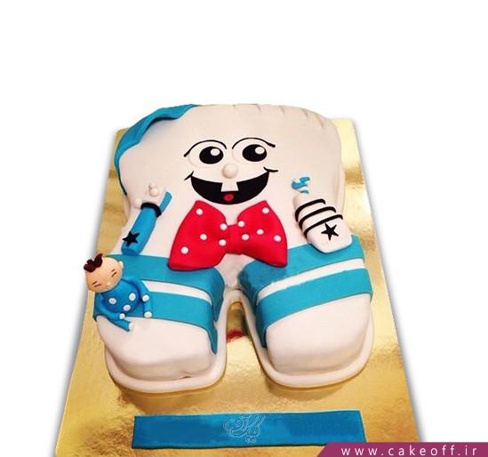 کیک جشن دندونی - کیک دندون تک دندون | کیک آف