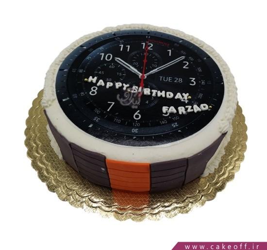 کیک ساعت اسپرت