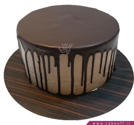 کیک شکلاتی عمو نوروز مهربان