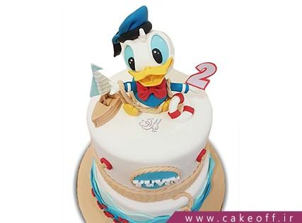 کیک کارتونی - کیک دونالد داک 4 | کیک آف