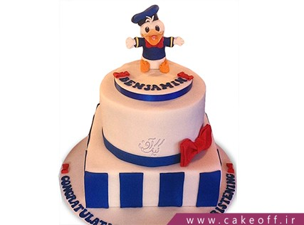 کیک کارتونی - کیک دونالد داک 5 | کیک آف