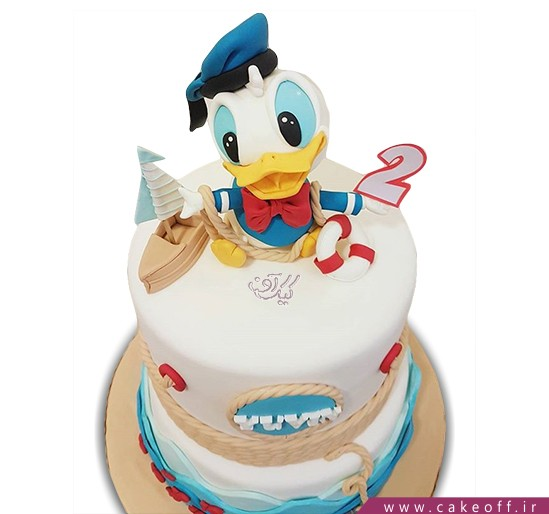 کیک کارتونی - کیک دونالد داک ۴ | کیک آف