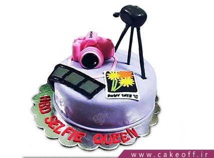 سفارش کیک تولد - کیک دوربین 2 | کیک آف
