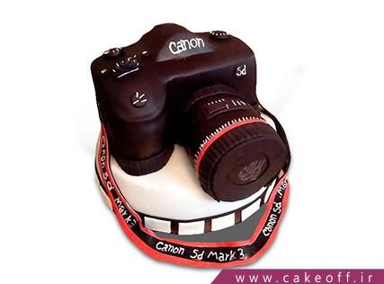 سفارش کیک تولد - کیک دوربین 3 | کیک آف