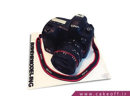 سفارش کیک تولد - کیک دوربین 4 | کیک آف