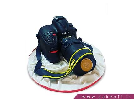سفارش کیک تولد - کیک دوربین 5 | کیک آف