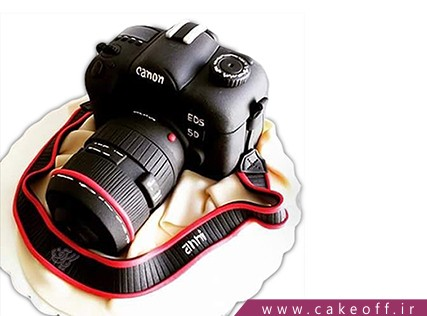کیک تولد - کیک دوربین 8 | کیک آف