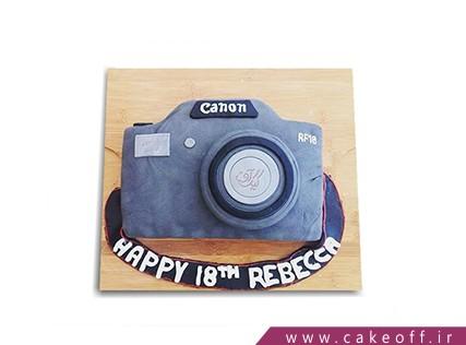 کیک تولد زیبا - کیک دوربین 10 | کیک آف
