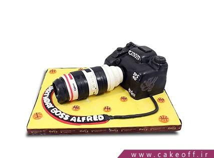 کیک تولد زیبا - کیک دوربین 11 | کیک آف