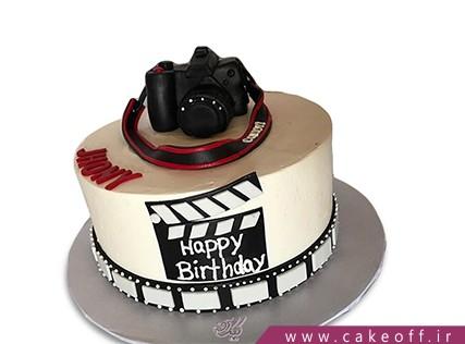 کیک تولد هنری - کیک دوربین 21 | کیک آف