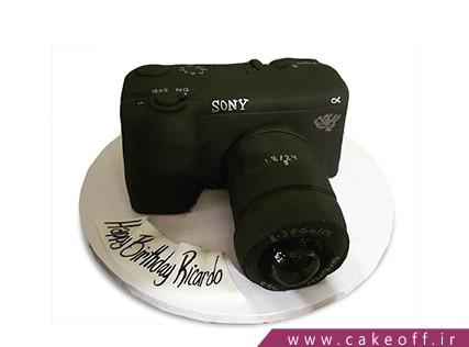 کیک تولد هنری - کیک دوربین 23 | کیک آف