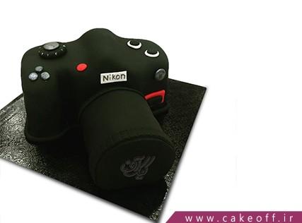 کیک تولد هنری - کیک دوربین 24 | کیک آف