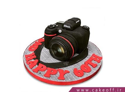 کیک تولد هنری - کیک دوربین 25 | کیک آف
