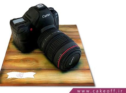 کیک تولد هنری - کیک دوربین 26 | کیک آف