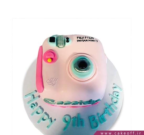 خرید کیک تولد - کیک دوربین ۶ | کیک آف