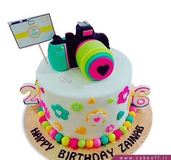 کیک دوربین 7