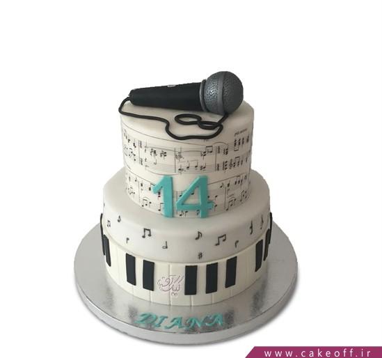 کیک روز خبرنگار 2 | کیک آف