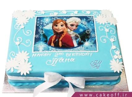 کیک السا و آنا دوست داشتنی | کیک آف