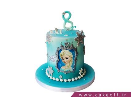 کیک دخترانه السا ملکه یخ ها | کیک آف