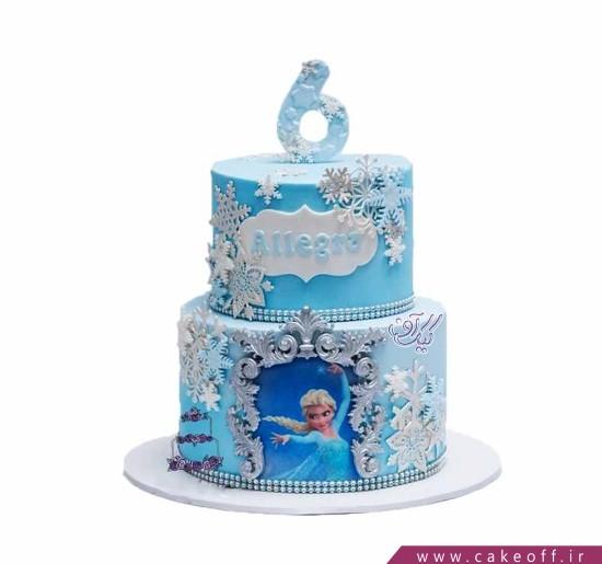 کیک دخترانه السای مبارز