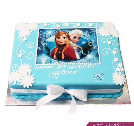 کیک السا و آنا دوست داشتنی