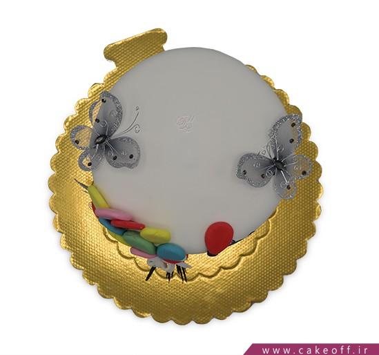 کیک تولد دخترانه - کیک آرزوهای الی کوچولو | کیک آف
