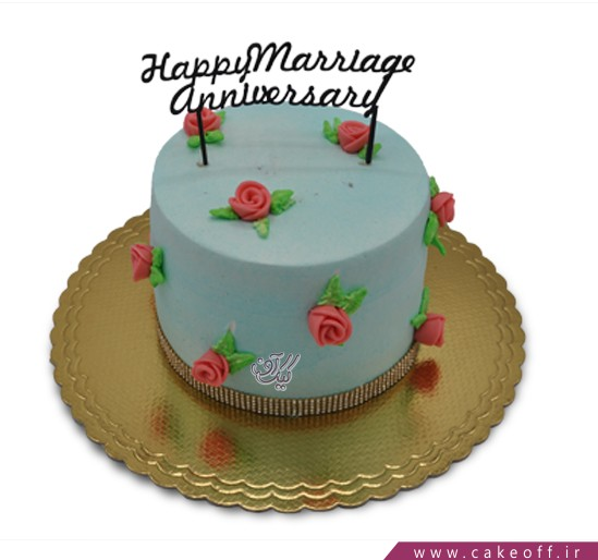 کیک تولد زنانه - کیک بی تو هرگز   کیک آف