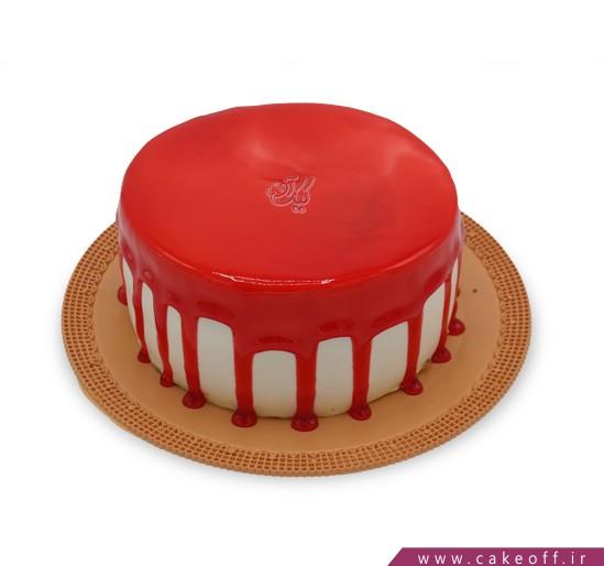 کیک چکه ای خوشرنگ