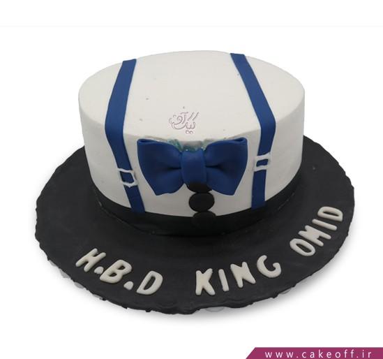کیک مردانه آقای خوش تیپ